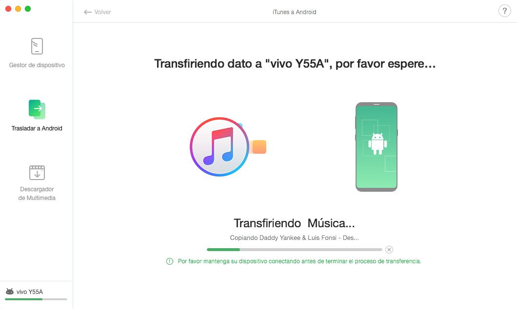 Biblioteca de iTunes a Android - 4