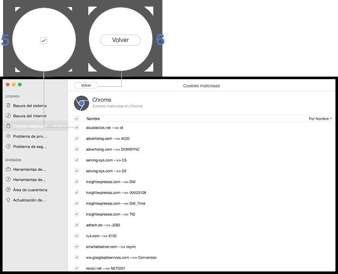 Compruebe archivos maliciosos para limpiar