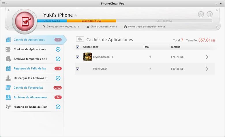 desactive apps