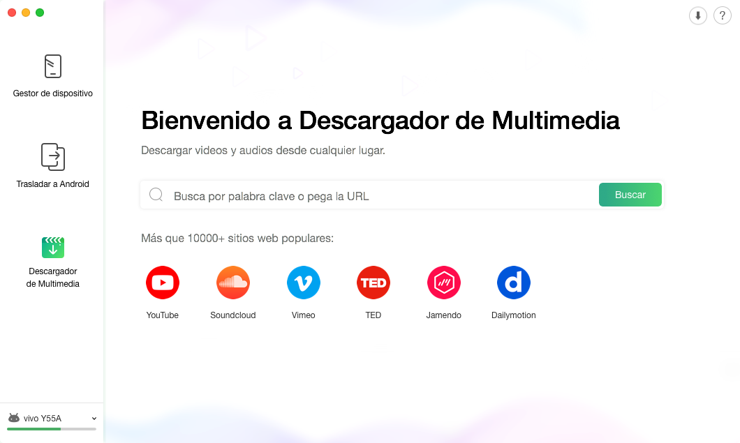 Descargador de Multimedia - 3