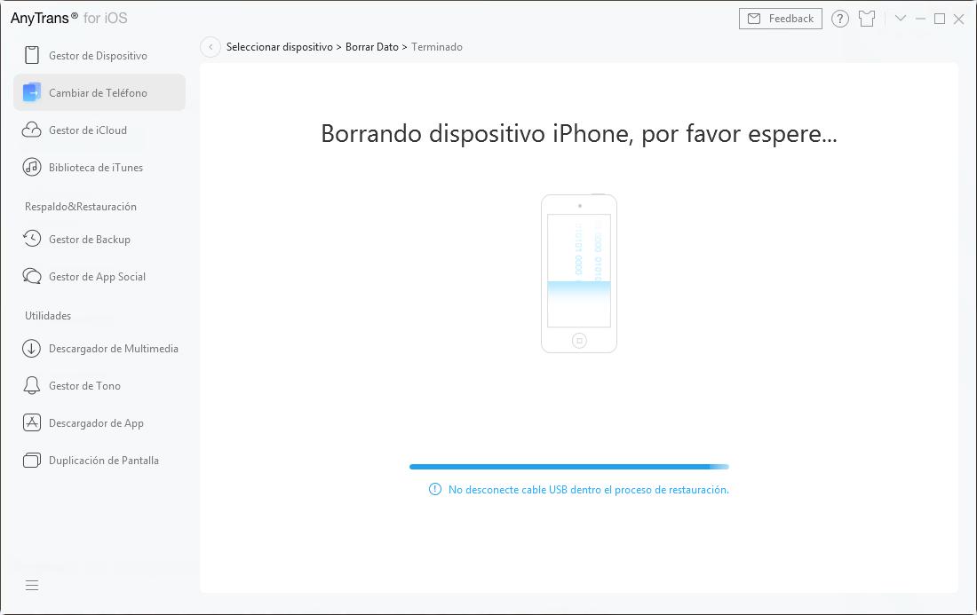 Borrar Phone 6