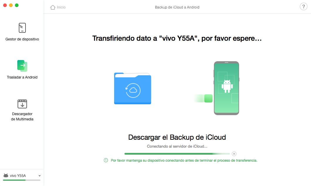 iCloud Backup a Android - 6