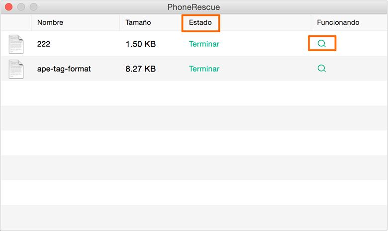 Descargar datos de iCloud Drive