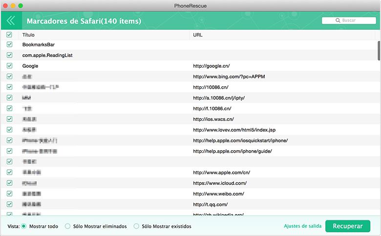 Recuperación de Datos de iPhone – Recuperar desde dispositivo iOS 3
