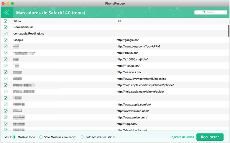 previsualizar info detalleda desde copia de seguridad de iCloud