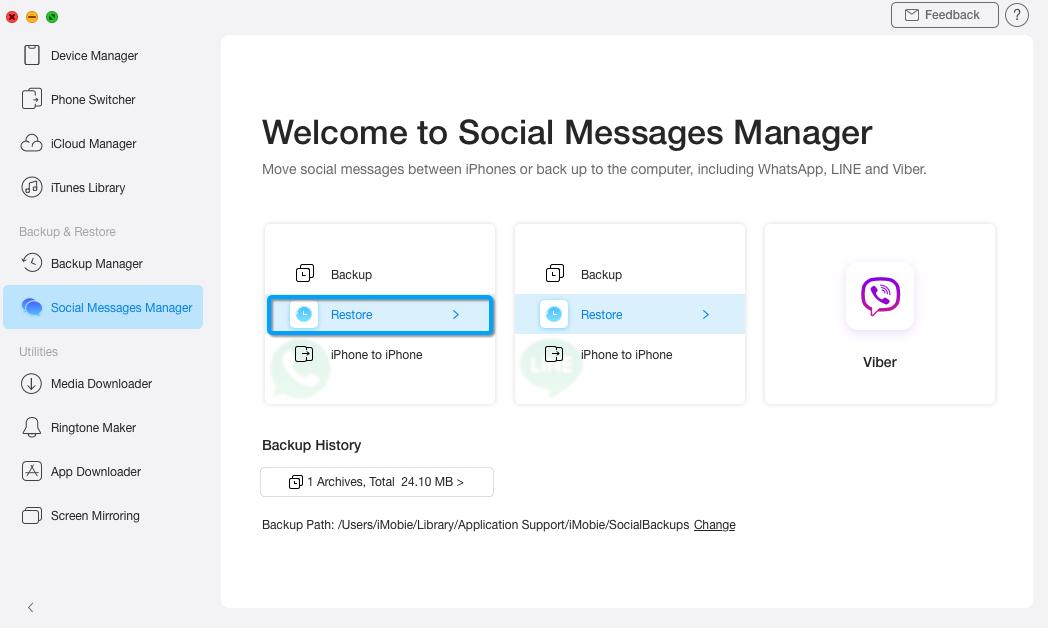 Restaurar mensajes sociales - 3