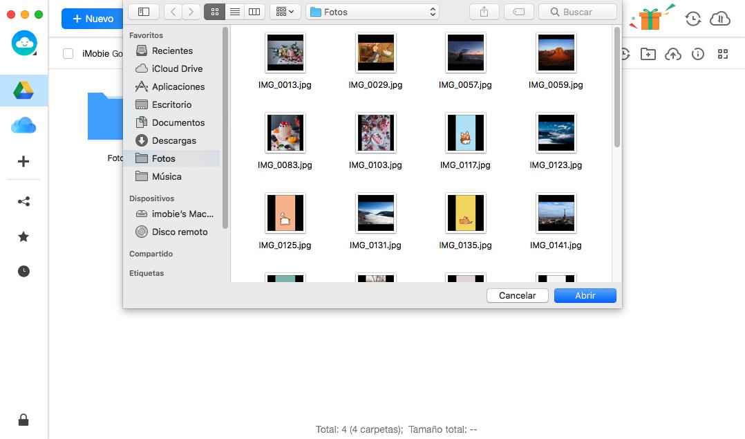 Selecciona archivos a subir3