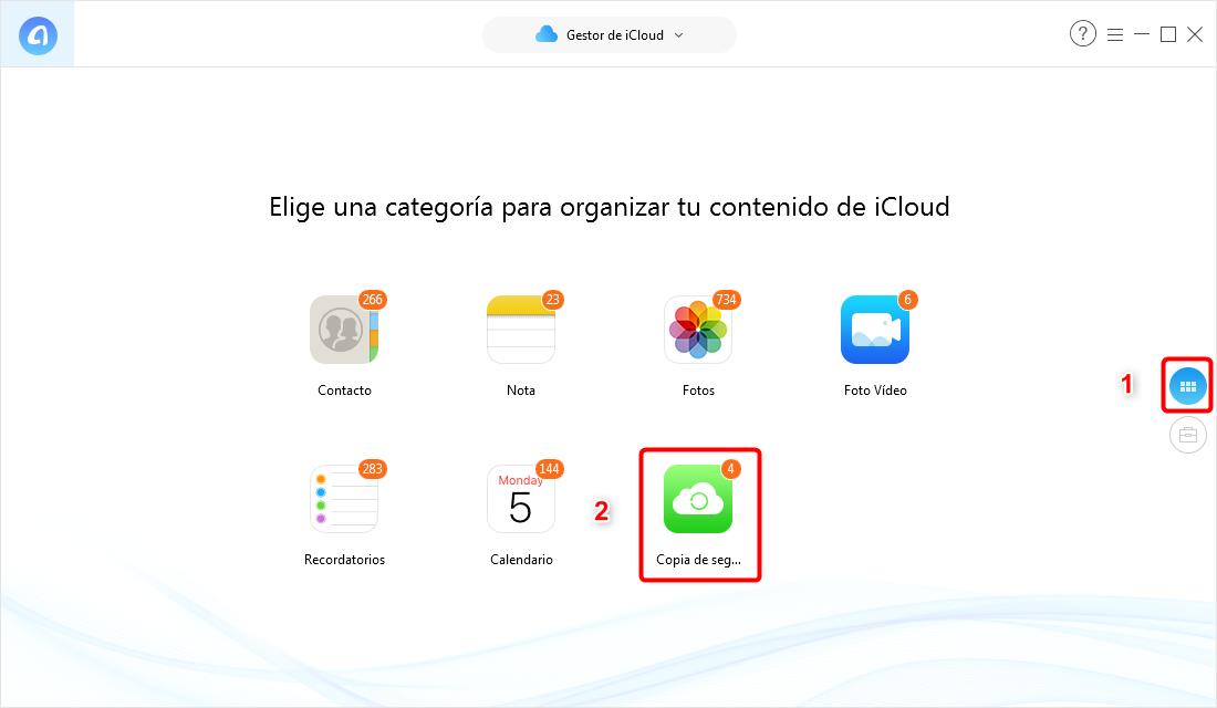 Cómo ver y descargar los mensajes de texto en iCloud - Paso 3