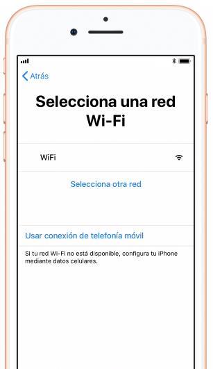 Configura el servicio de red y ubicación