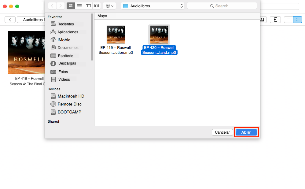 Cómo poner audiolibros en el iPod - Paso 3