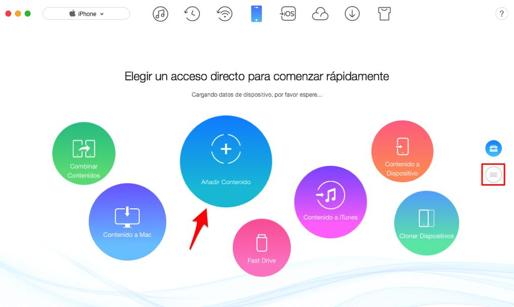 Cómo pasar archivos de pc a iPhone 9/XI(Plus) – Paso 2