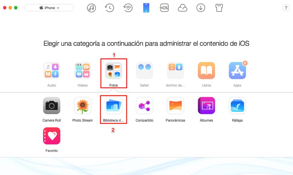 Cómo pasar archivos de pc a iPhone 9/XI(Plus) – Paso 3