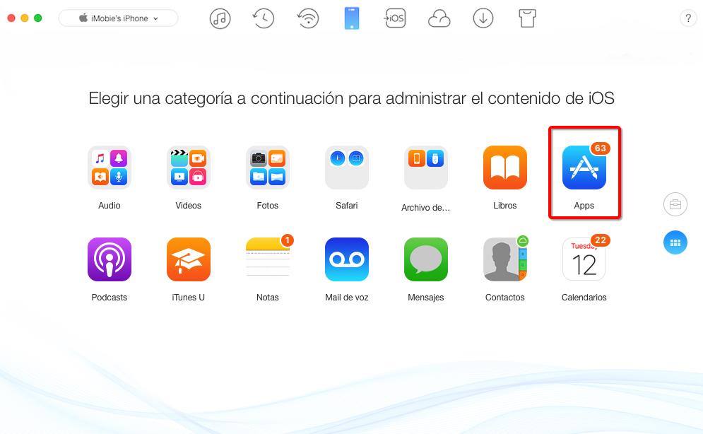 Copia de seguridad & Transferir el proceso de Minion Rush entre dispositivos iOS - Paso 2