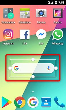 Cambiar el tamaño de la barra