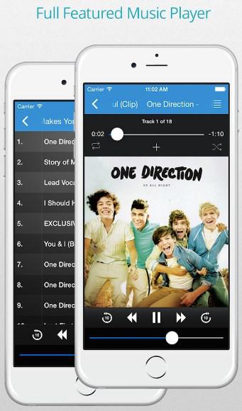 app para descargar musica y escuchar sin internet para iphone