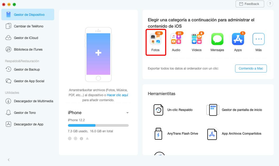 AnyTrans para iOS