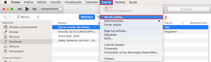 Cómo cambiar país de App Store en Mac /PC - Paso 1
