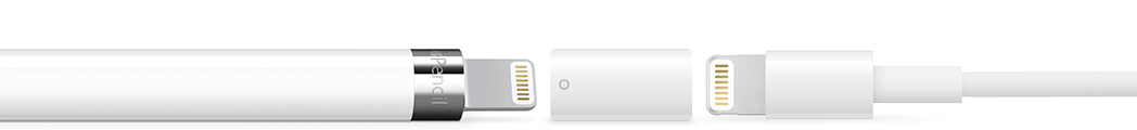 Carga Apple Pencil con el adaptador de carga