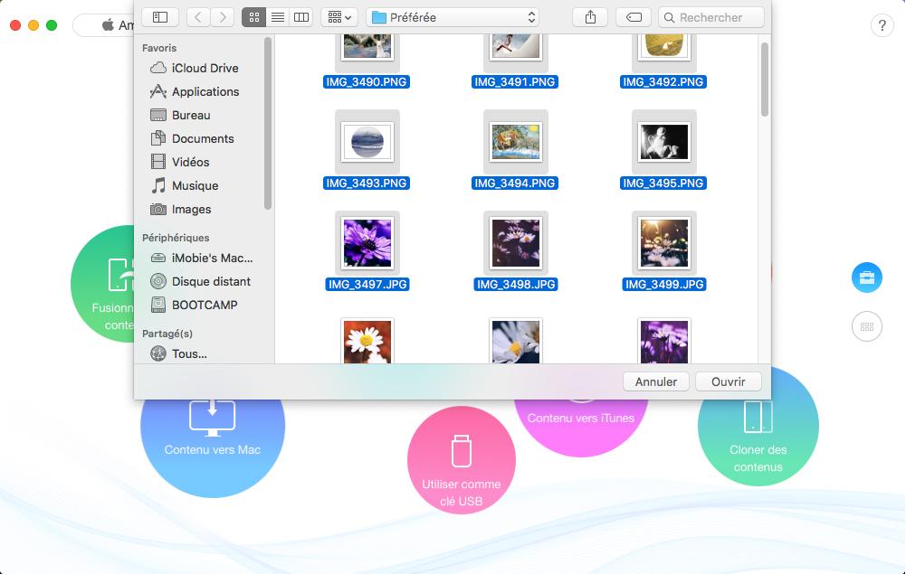 Pasar archivos de PC / Mac a iPhone XR / XS / XS Max