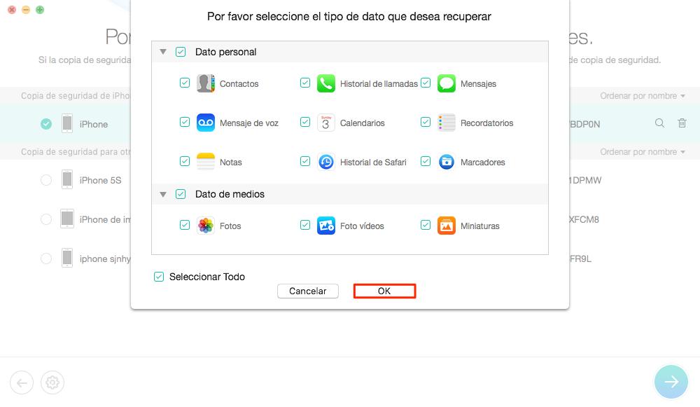 Cómo ver copia de seguridad iPhone en iTunes - Paso 3