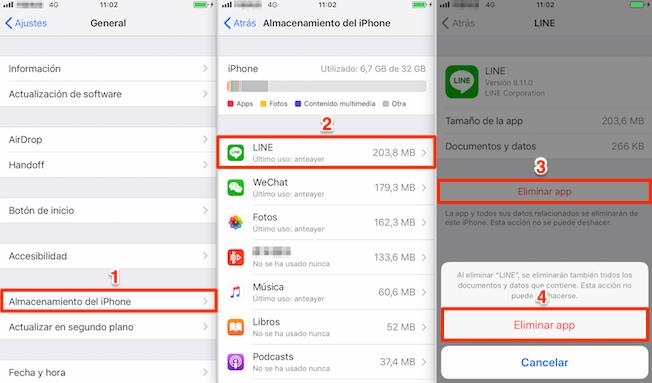 Borrar datos y caché de aplicaciones - Acelera iPhone/iPad