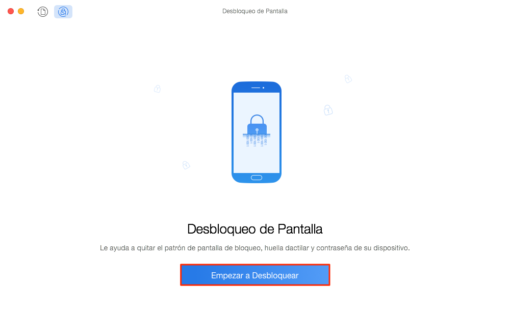 Cómo desbloquear un Huawei - Desbloqueo de Pantalla - Paso 2