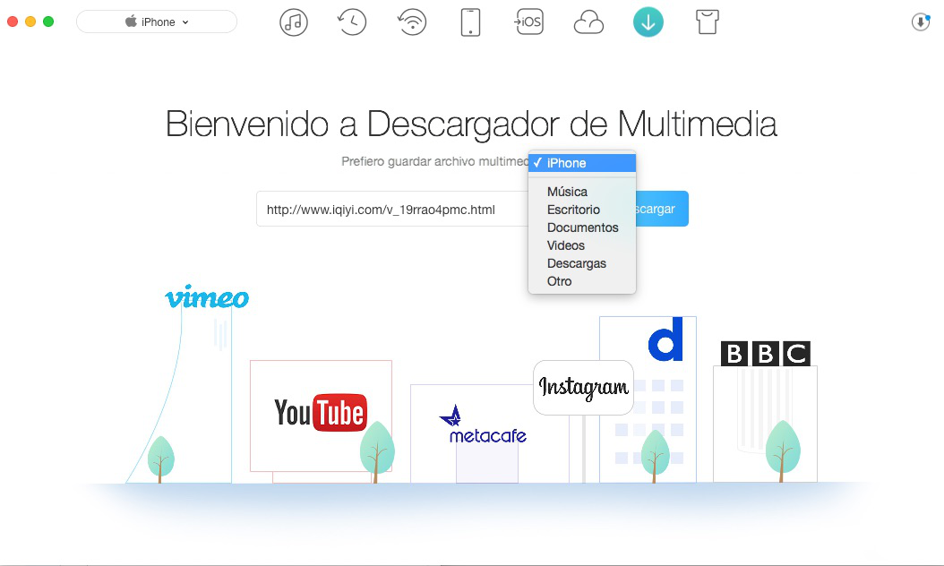 Cómo Descarga Videos de YouTube al iPhone – Paso 2