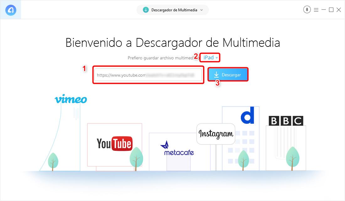 Cómo descargar videos de YouTube al iPad - Paso 2