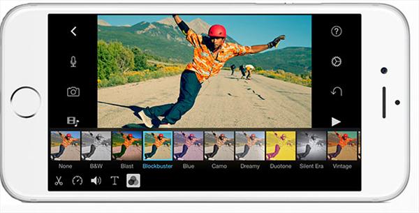 Editar videos en iPhone con iMovie