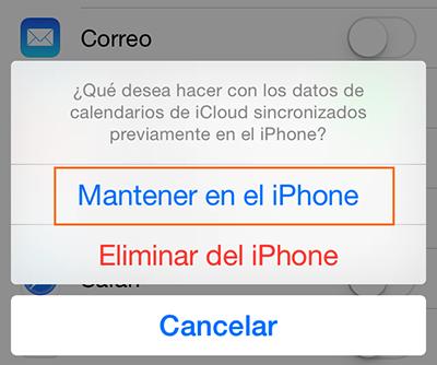 Cómo recuperar los contactos de iCloud – Paso 4