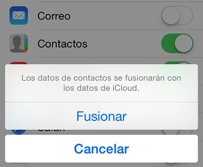 Cómo recuperar los contactos de iCloud – Paso 5