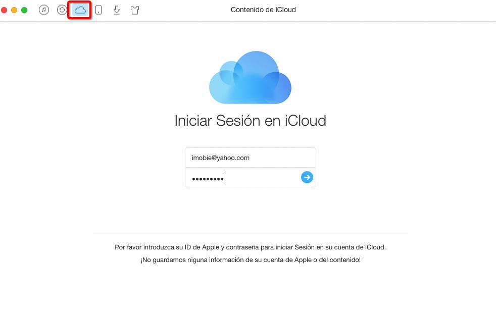 Cómo recuperar los contactos de iCloud con AnyTrnas – Paso 3