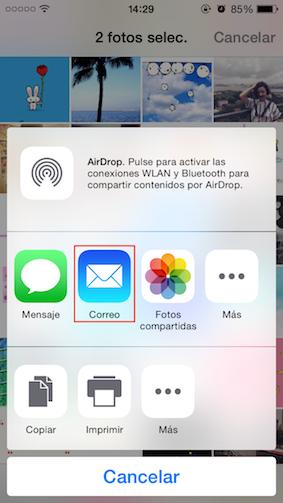 Cómo pasar fotos del iPhone al Mac
