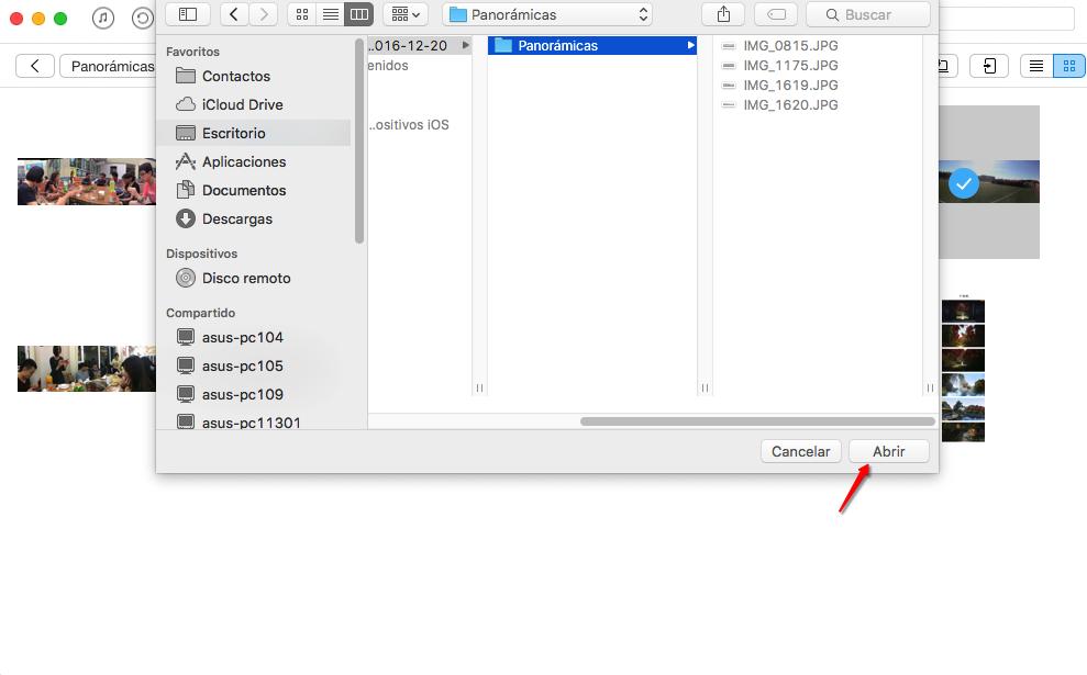 Cómo Transferir Fotos de iPhone al PC – Paso 3