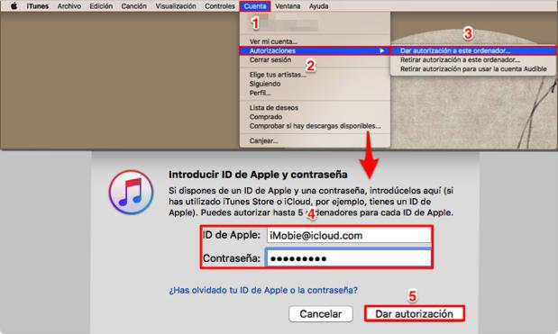 Cómo pasar música de mi iPhone a iTunes – Paso 1
