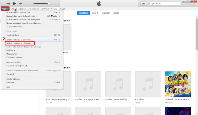 Cómo Pasar Música del iPod al PC - Paso 5