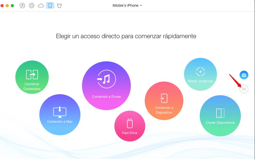 Cómo Transferir Vídeo al iPhone - Paso 2