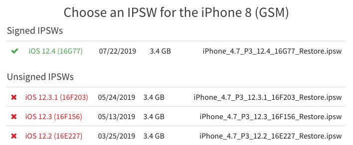Descarga el firmware de iOS 12 - Paso 2.1
