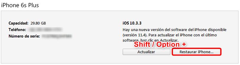 Cómo volver a iOS 12