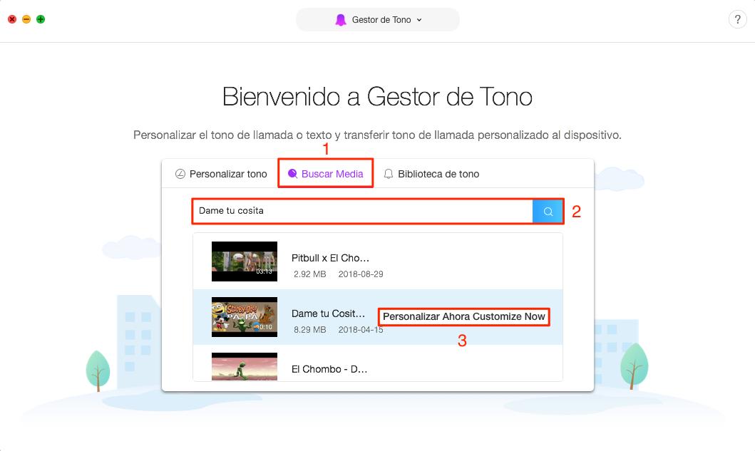 Cómo descargar tono de mensaje de iPhone - Paso 2
