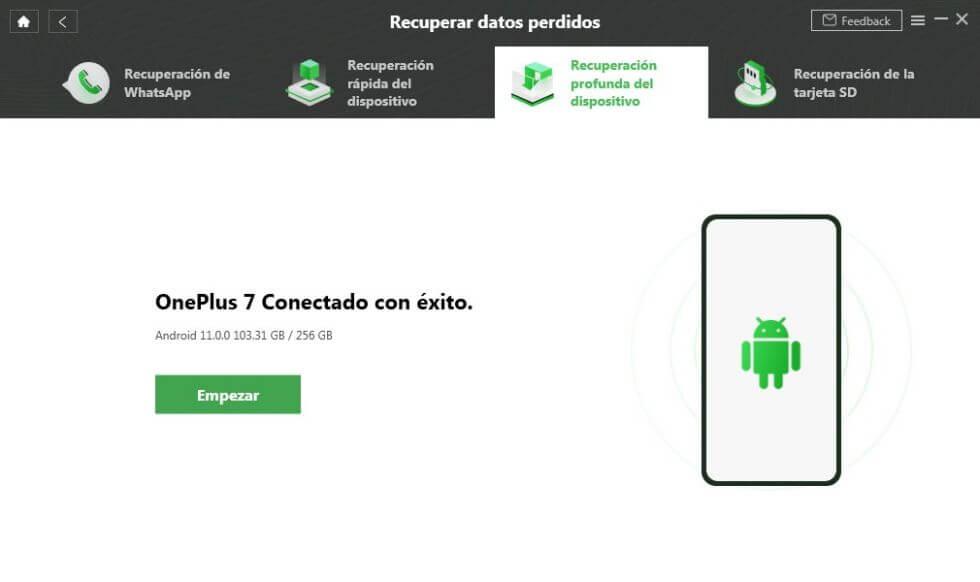 Conecte tu dispositivo Android a la computadora