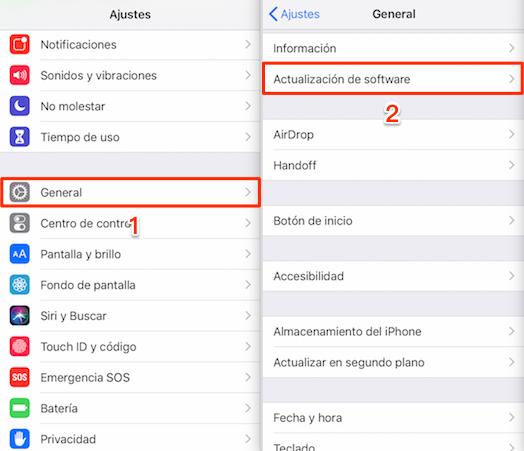 iPhone accesorio no compatible - Actualiza la nueva versión de iOS en tu iPhone