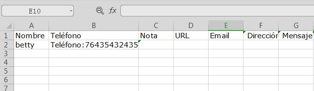 Verificar los contactos en ordenador