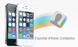 Cómo exportar contactos desde iPhone