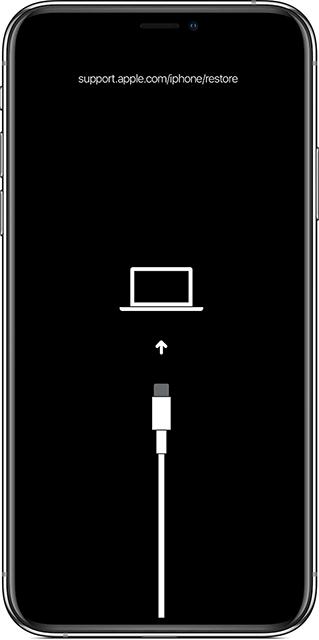 Reinicie el iPhone en el Modo de Recuperación