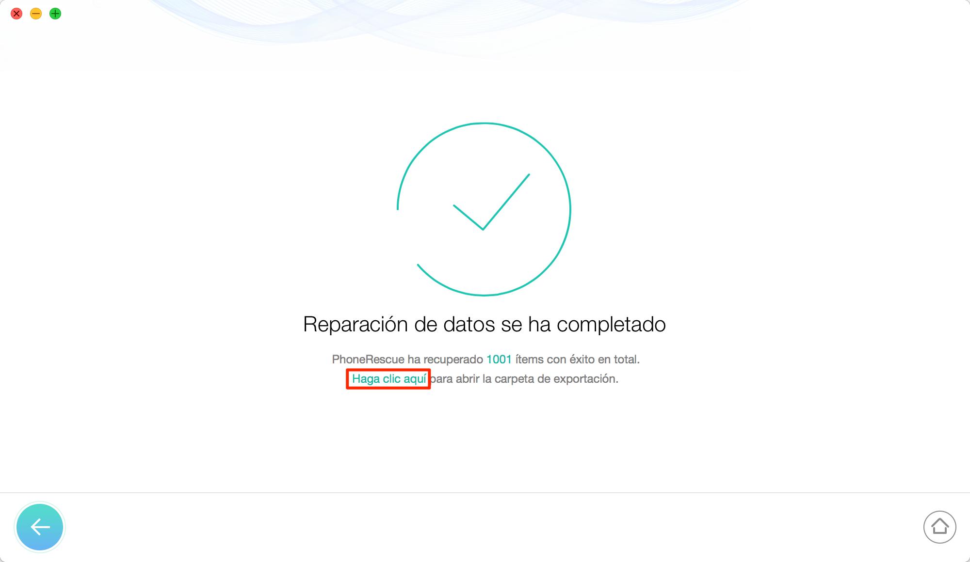 Cómo recuperar datos de iPhone - Paso 5