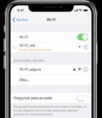Problemas de conexión celular y Wi-Fi