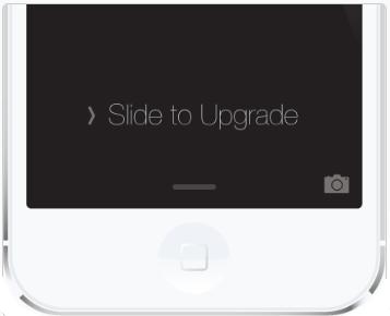 "Problema con iOS 12 - iPhone bloqueado en ""Slide to upgrade"""