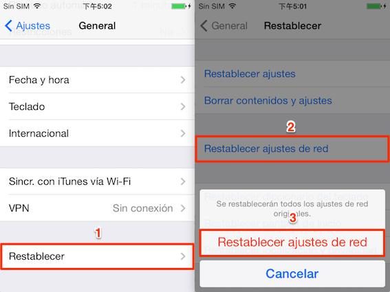 Soluciones de iPhone bloqueado en verificando actualización - Solución 4