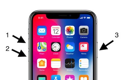 iPhone bloqueado al actualizar - Realizar un restablecimiento completo